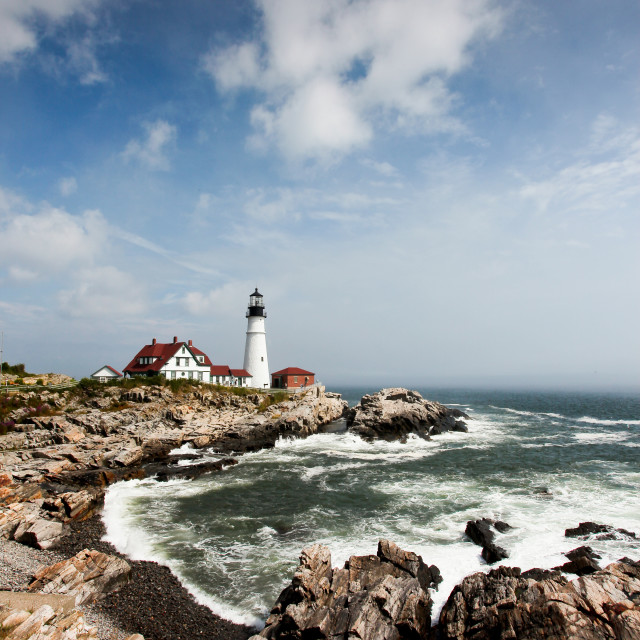 """Portland Head Light"" stock image"