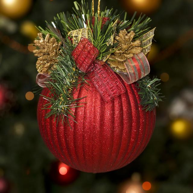 """""""Christmas balls"""" stock image"""