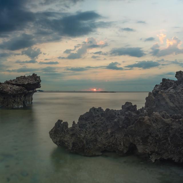 """My Hiep beach, Ninh Thuan, Vietnam"" stock image"