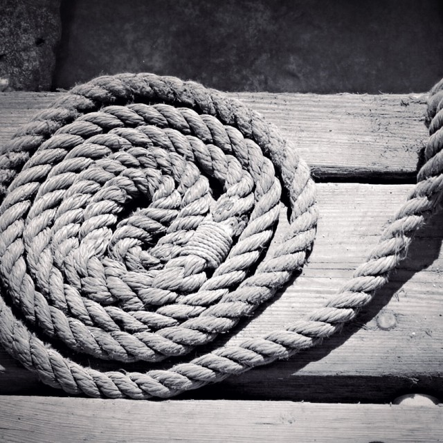 """Nautical rope"" stock image"