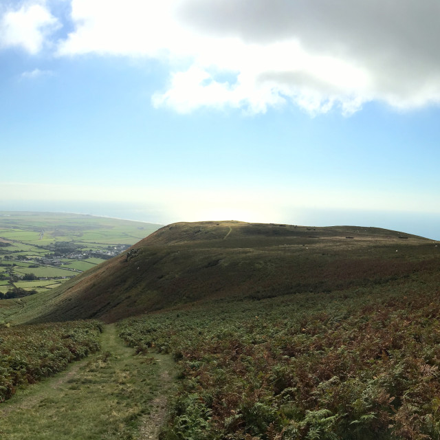 """Black Combe"" stock image"