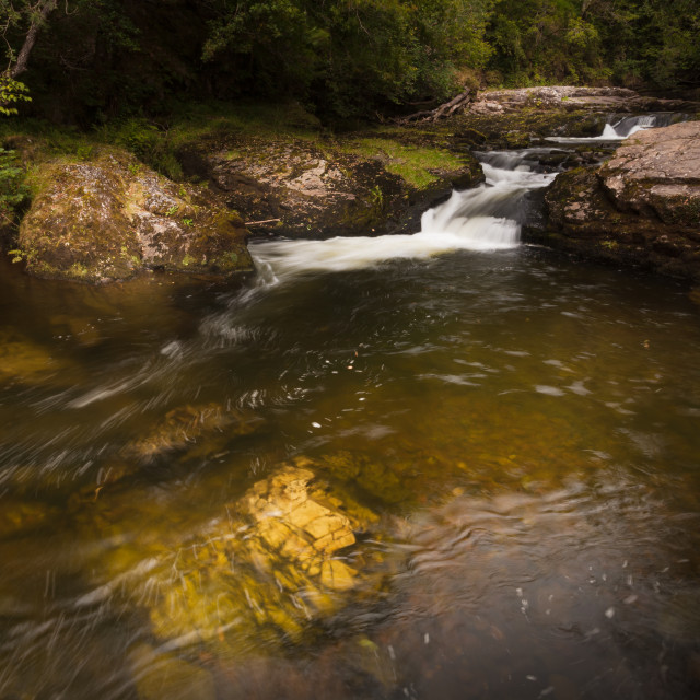 """""""The Mellte river"""" stock image"""