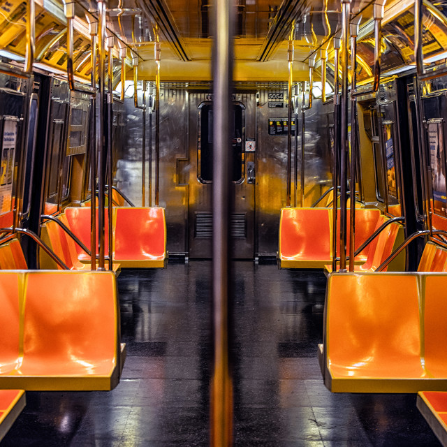 """empty metro"" stock image"