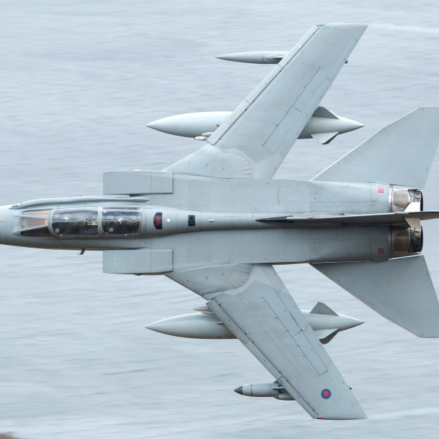 """RAF Tornado GR4"" stock image"