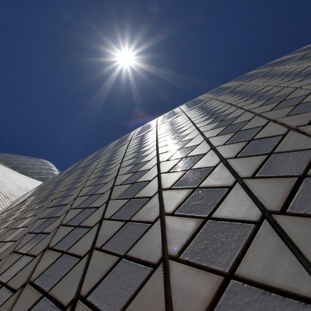 """Sydney Opera tiles"" stock image"