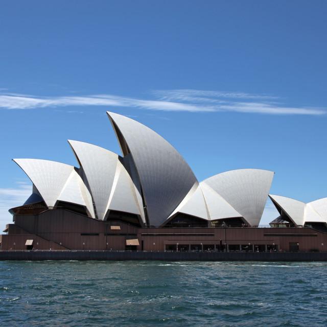 """Sydney opera"" stock image"