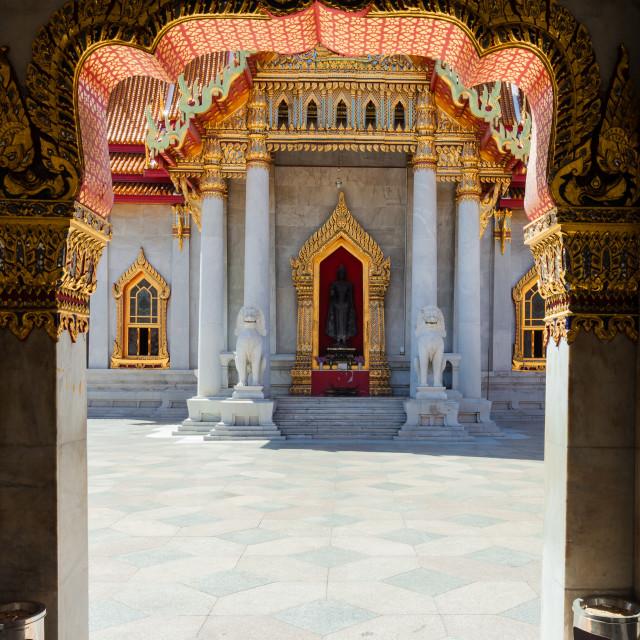 """Wat Benchamabophit Dusitvanaram"" stock image"