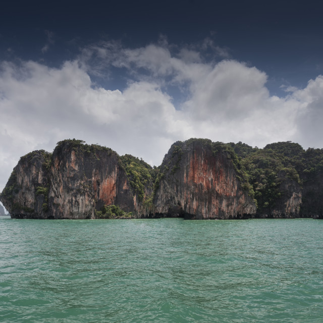 """Limestone islands in Thailand"" stock image"