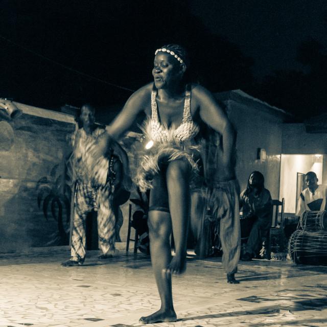 """""""Gambian Dancers"""" stock image"""