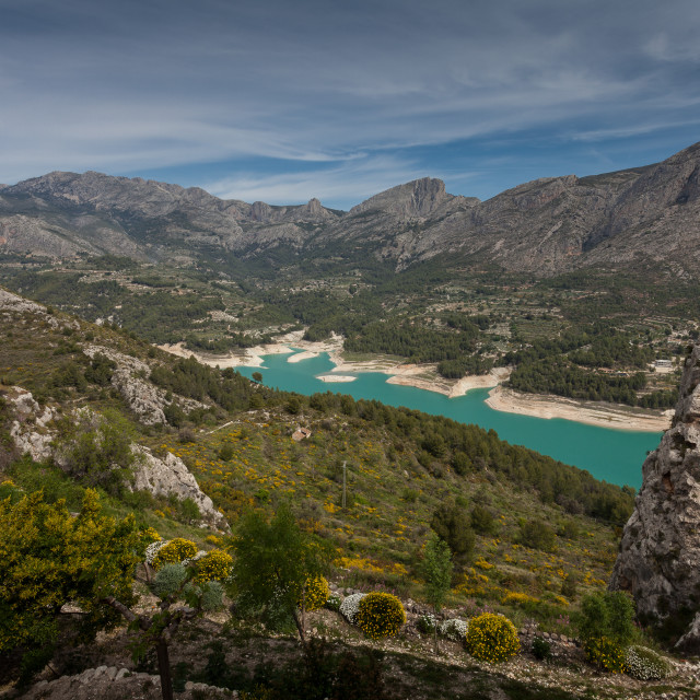 """Guadalest valley Spain"" stock image"