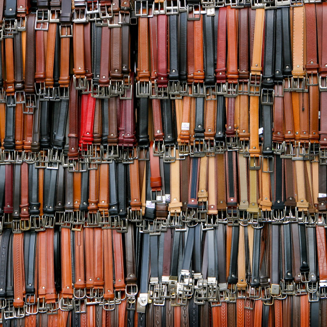 """Belts"" stock image"