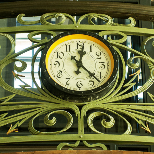 """""""The Old Clock"""" stock image"""