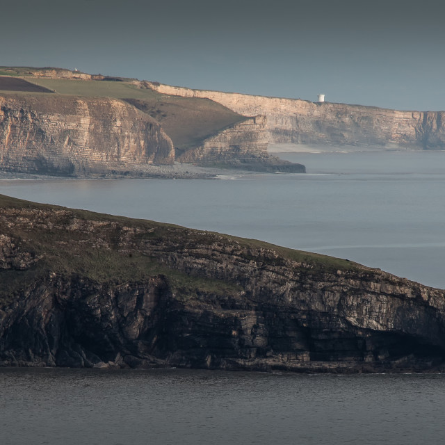 """South Glamorgan Heritage coast"" stock image"