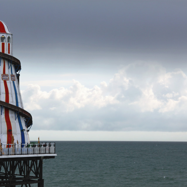 """Helter Skelter Rainy Weather"" stock image"