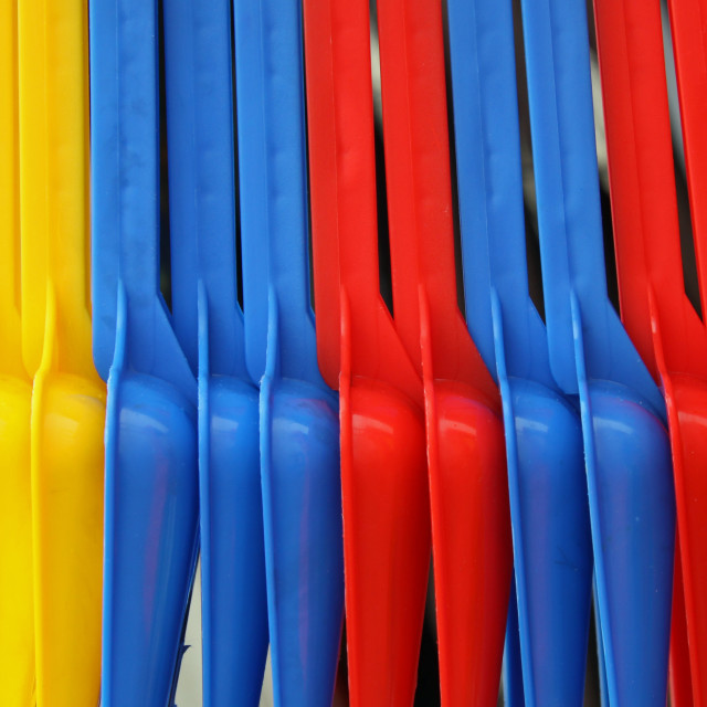 """""""Spades - Primary Colours"""" stock image"""