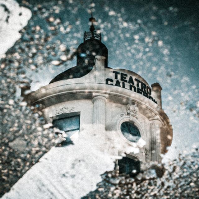 """Teatro Calderon"" stock image"