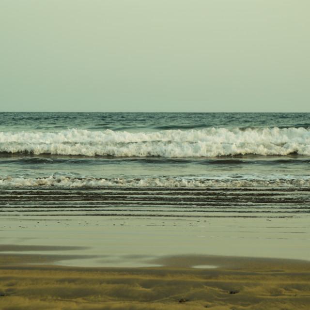 """Waves"" stock image"