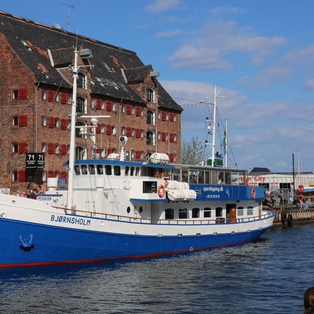"""""""Bjørnsholm"""" stock image"""