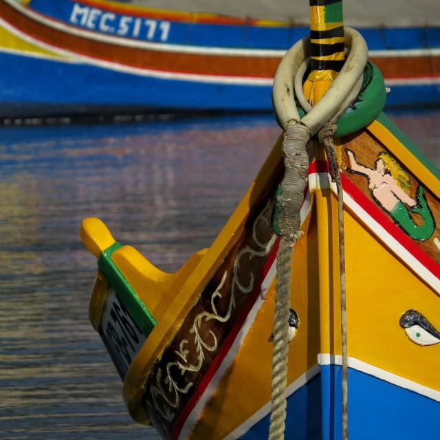 """""""Maltese boat"""" stock image"""