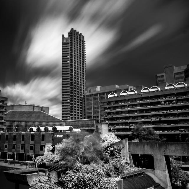 """Barbican Landscape"" stock image"