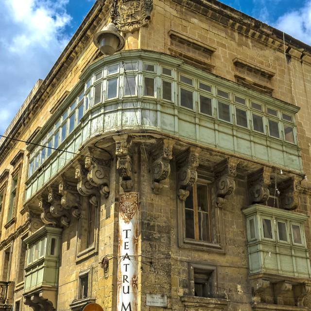 """""""Manoel Theatre"""" stock image"""