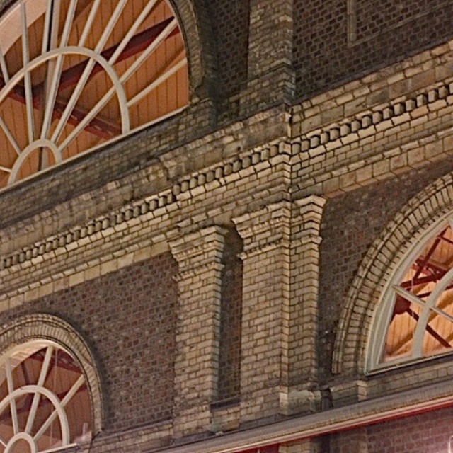 """Altrincham Market Hall"" stock image"