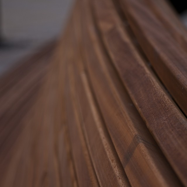 """bench bokeh"" stock image"