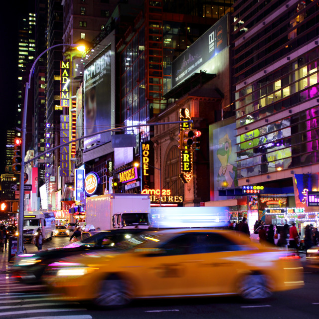 """42nd Street"" stock image"