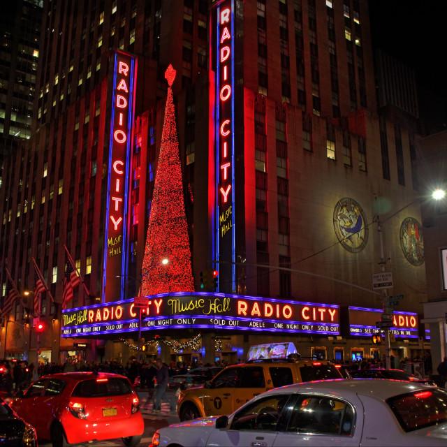 """Radio City Music Hall"" stock image"