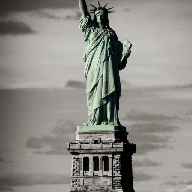"""""""Lady Liberty"""" stock image"""