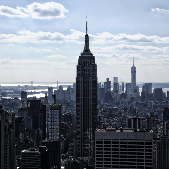 """""""Empire State Building"""" stock image"""
