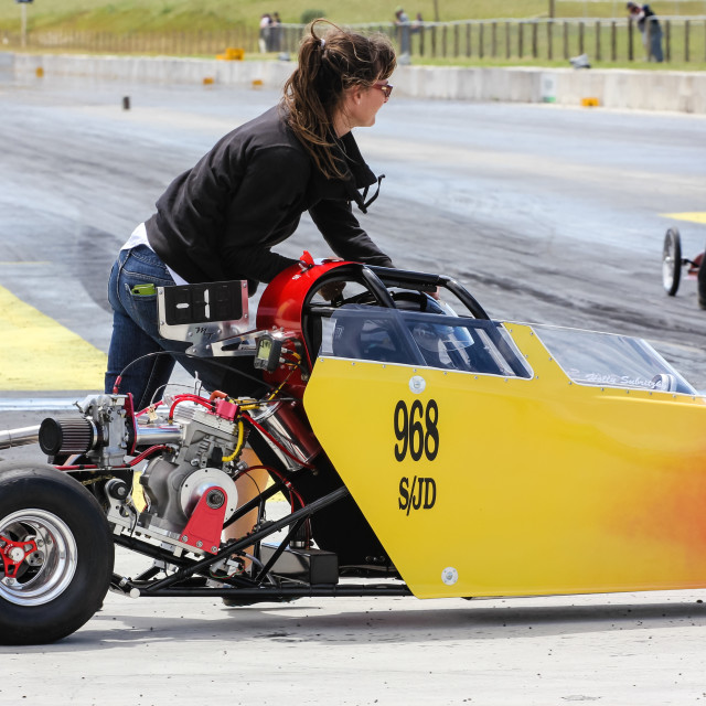 """junior dragster"" stock image"