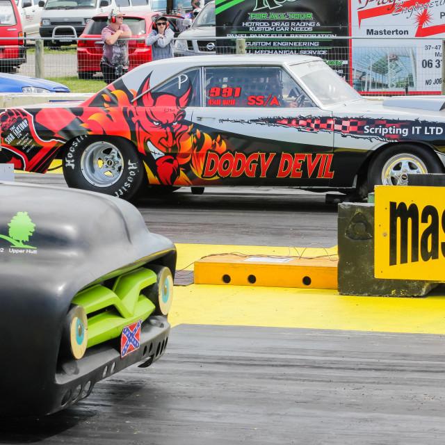 """""""drag racing"""" stock image"""