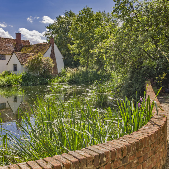 """Willy Lotts Cottage"" stock image"