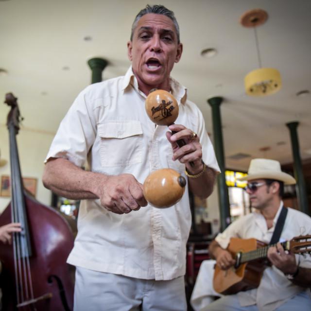 """Salsa Band Cuba"" stock image"