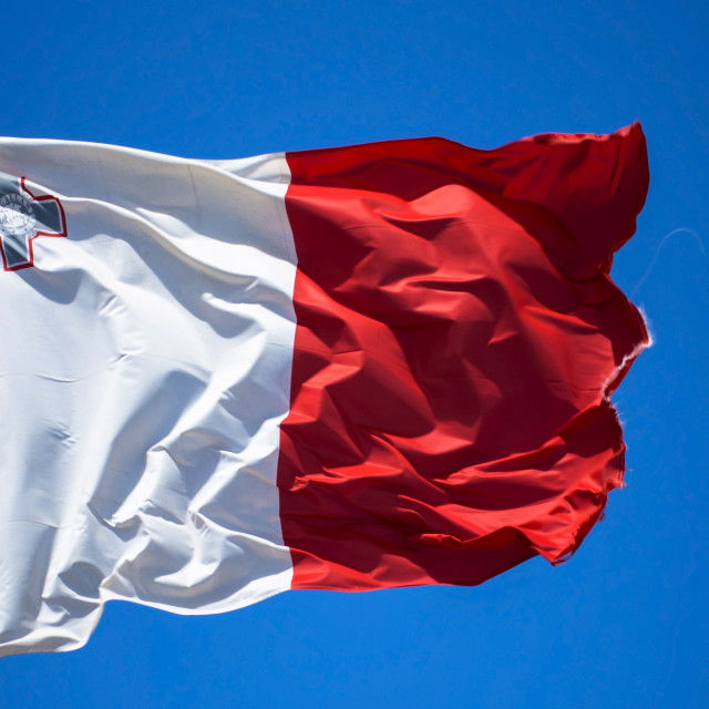 """Flag of Malta"" stock image"