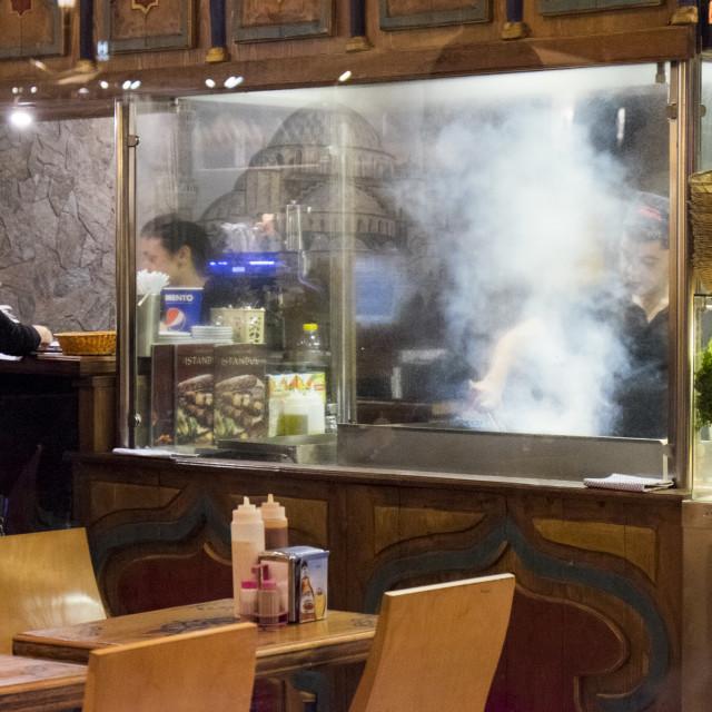 """""""Turkish Cooking"""" stock image"""