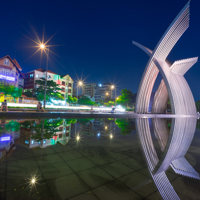 """Hoang Van Thu park"" stock image"