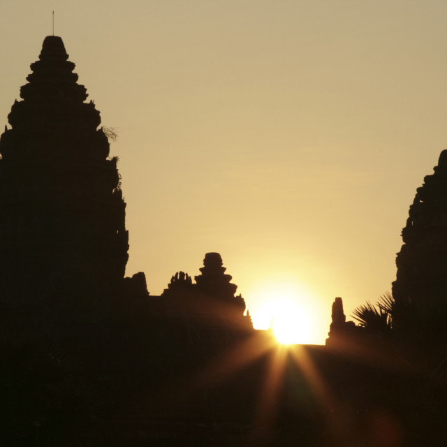 """Angkor Wat Sunrise"" stock image"