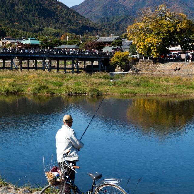 """Togetsukyo Bridge, Arashiyama"" stock image"
