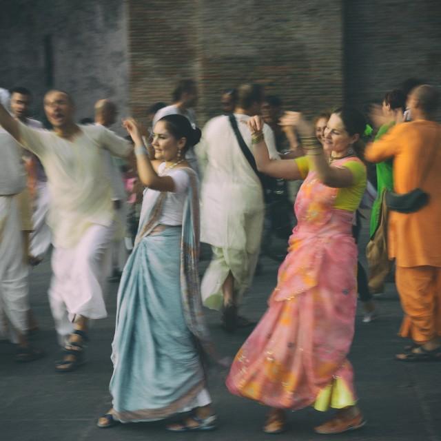 """Hare Krishna"" stock image"