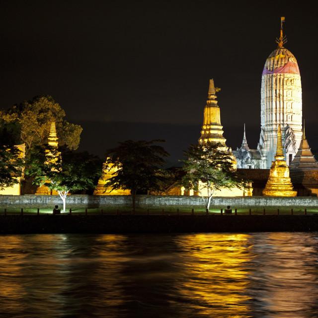 """Wat Phutthai Sawan"" stock image"