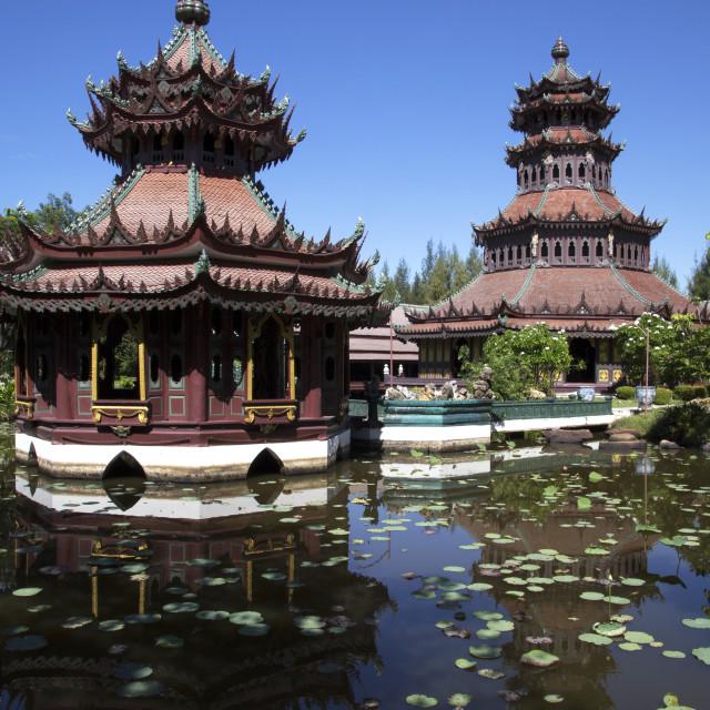 """""""Ancient City Ang Thong"""" stock image"""