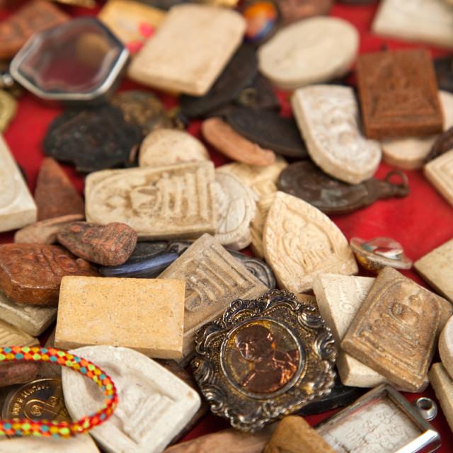 """""""Bangkok Amulet Market"""" stock image"""