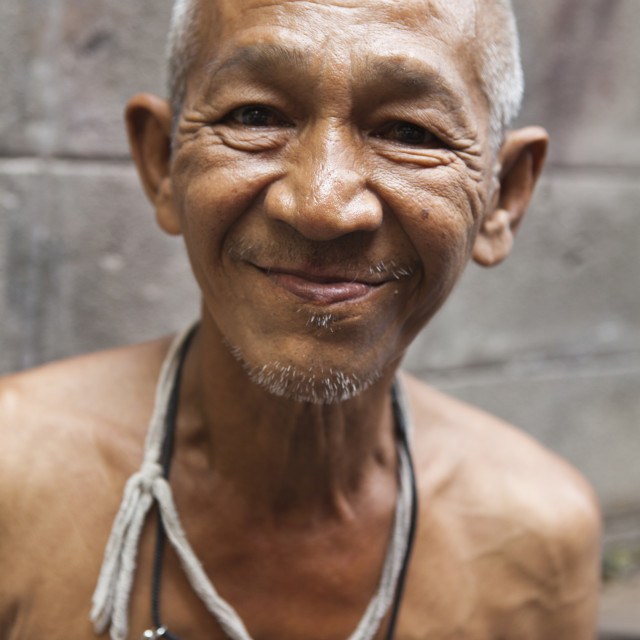 """Thai Senior"" stock image"