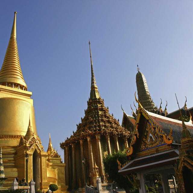 """Wat Phra Kaew, Bangkok"" stock image"