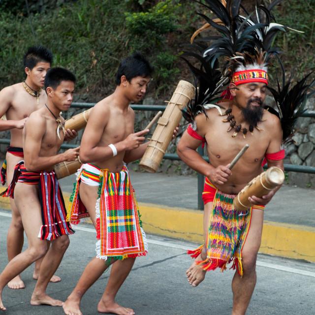 """Igorot Hill Tribe"" stock image"