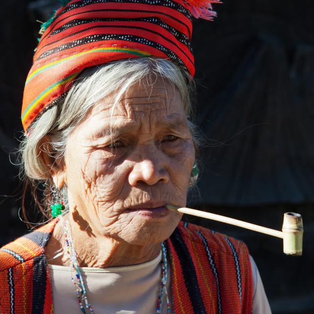 """Kalinga Igorot Woman"" stock image"