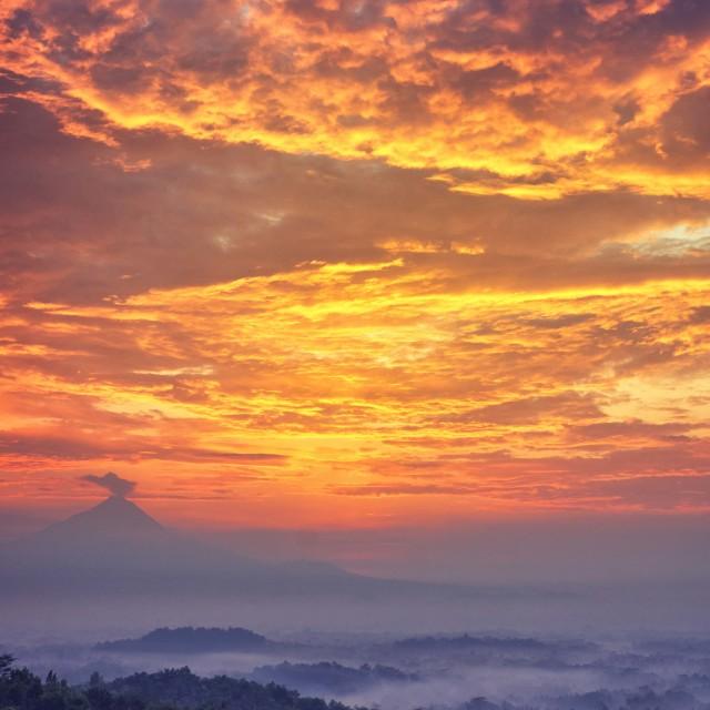 """""""Punthuk Setumbu Hill"""" stock image"""