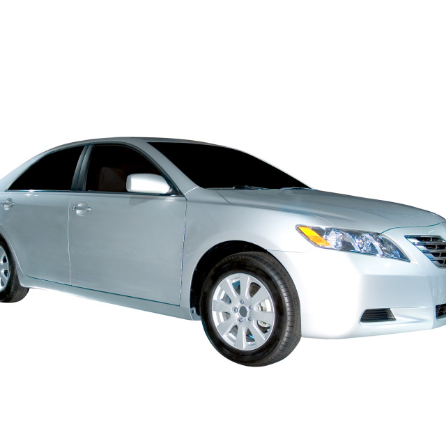 """Toyota Camry Hybrid Model"" stock image"